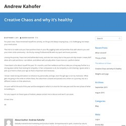 Creative Chaos and Why it's Healthy - Andrew Kahofer