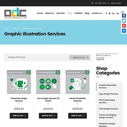 Get Creative Graphic Illustration Services