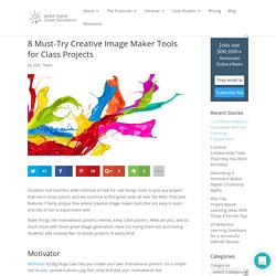 8 Must-Try Creative Image Maker Tools for Class Projects
