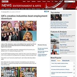 UK's creative industries beat employment downturn