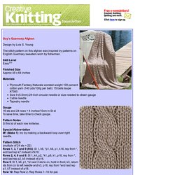 Creative Knitting with Barb