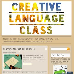 The Creative Language Class