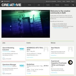 Creative Bath, Linking the creative industries in and around Bath