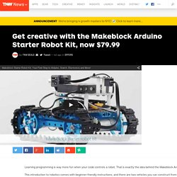 Get creative with the Makeblock Arduino Starter Robot Kit