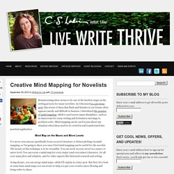 Creative Mind Mapping for Novelists