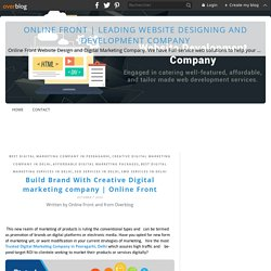 Online Front - Best Website Design and Web Development Company in Delhi
