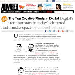 The Top Creative Minds in Digital