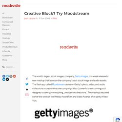 Creative Block? Try Moodstream - ReadWriteWeb