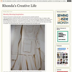Rhonda's Creative Life: Monday Morning Inspiration
