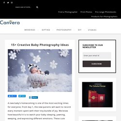 15+ Creative Baby Photography Ideas - Canvera Blog