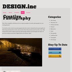 Creative Photography - Design.inc Blog