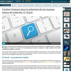 Creative Commons lance la préversion de son nouveau moteur de recherche, CC Search