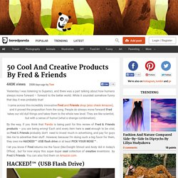 50 Cool and Creative Products by Fred & Friends