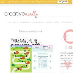 Programa para crear carteles: easelly