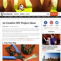 20 Creative DIY Project Ideas