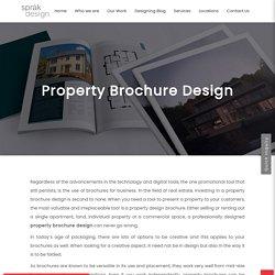 Creative Property Brochure Design Templates At The Best -Sprak Design