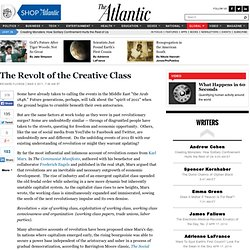 Revolt of the Creative Class