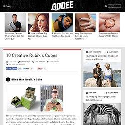 10 Creative Rubik Cubes - Oddee.com (rubik cube, pentamix)