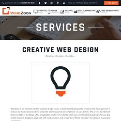 Creative Web Design Services, Professional Web Design Company India