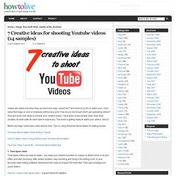 Good Youtube Video Ideas