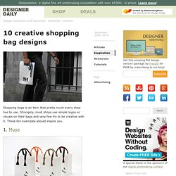 10 creative shopping bag designs