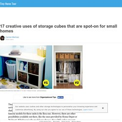 17 creative uses of storage cubes that are spot-on for small homes