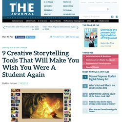 9 Creative Storytelling Tools That Will Make You Wish You Were A Student Again