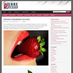 Creative Strawberry Pictures