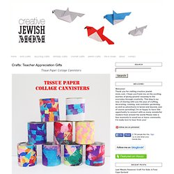 creative jewish mom: Crafts: Teacher Appreciation Gifts