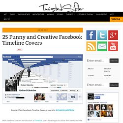 25 Funny and Creative Facebook Timeline Covers