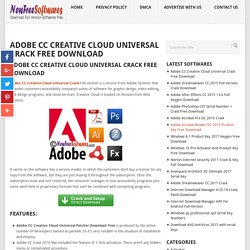 Adobe CC Creative Cloud Universal Crack Free Download