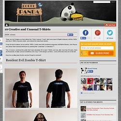 10 Creative and Unusual T-Shirts