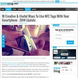 18 Creative & Useful Ways To Use NFC Tags With Your Android Phone