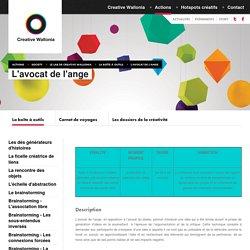 Society - Le lab de Creative Wallonia - La boîte à outils - L'avocat de l'ange