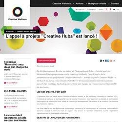 Creative Wallonia - Actualités