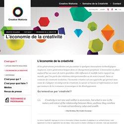 Creative Wallonia -L'économie de la créativité