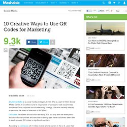 10 Creative Ways to Use QR Codes for Marketing