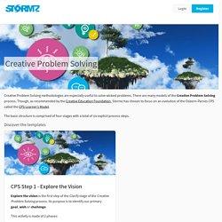 Creative Problem Solving - Stormz - Workshop Facilitation Solution