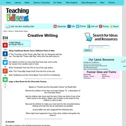 creative writing story idea generator