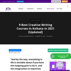 Creative Writing Courses in Kolkata
