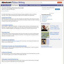 Creative Writing Exercises -- Creative Writing Exercises for Craft