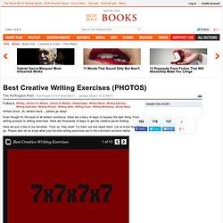 Best Creative Writing Exercises (PHOTOS)