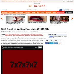 Best Creative Writing Exercises (PHOTOS)