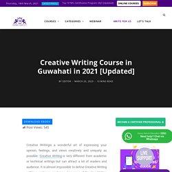 Creative Writing Courses in Guwahati