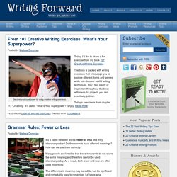 Creative Writing Blog