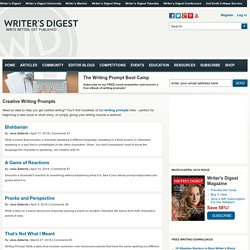 Writer's Digest - Writing Prompts