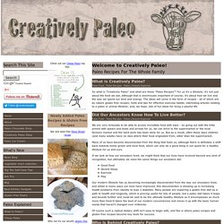 Creatively Paleo - Paleo Recipes for the whole family