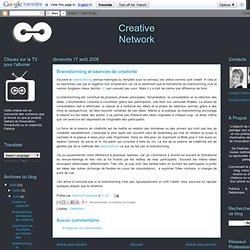 Brainstorming et séances de créativité