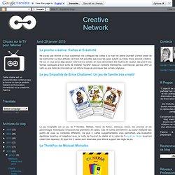 La pioche créative: Cartes et Créativité