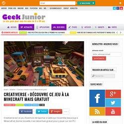Creativerse : découvre ce jeu à la Minecraft mais gratuit